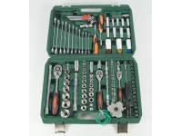 Набор инструментов 126 предметов (зеленый кейс)