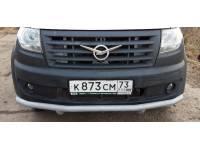 Дуга-защита переднего бампера УАЗ Профи одинарная
