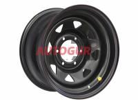 Диск колесный стальной УАЗ R16 OFF-ROAD Wheels 1680-53910 ET (+15) A17 Патриот (черный)