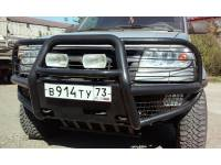 Бампер передний Беркут-2 на УАЗ Патриот