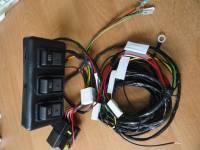 Комплект электропроводки для пневмоблокировки